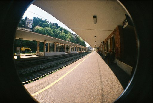 Walking in Milan with a Fisheye No. 2