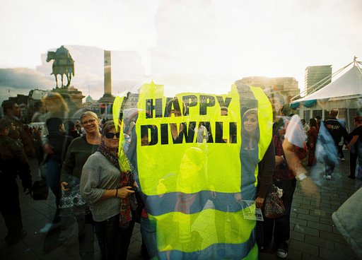RECAP: Diwali in Trafalgar Square with the LC-A+ @ Lomography Gallery Store Soho