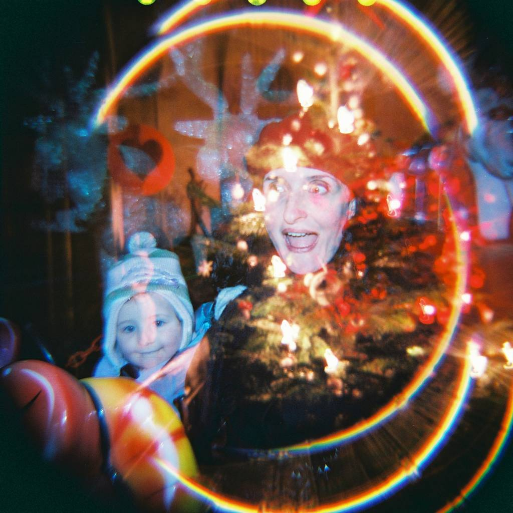 Analogue Memories of the Holidays Shot with the Diana F+
