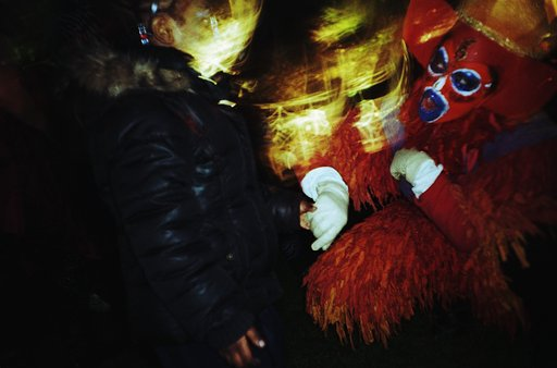 This Calls for a Celebration: Halloween in a Park Which is About to Disappear
