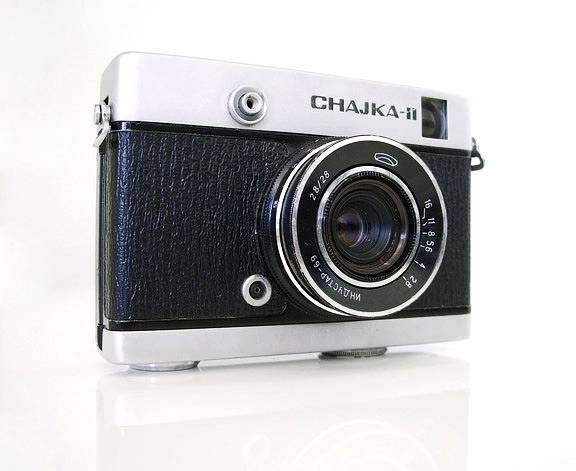 Be Lomo Chajka II Half-Frame camera