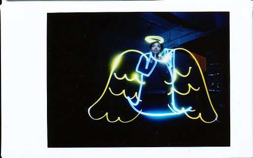Diana Instant Back – Light Painting 实验