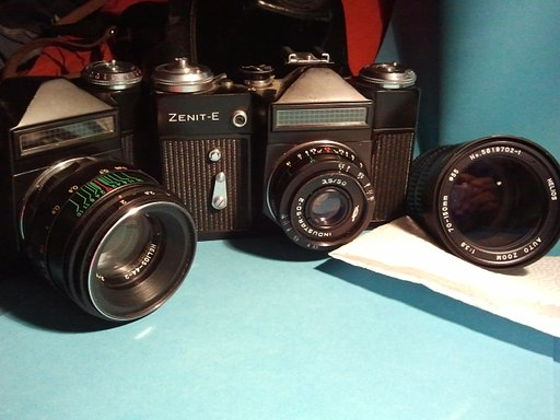 Zenit E: The Sturdy Metal Heart of Russian Photography