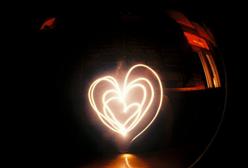 Twosday Tuesday: (Light)Painting Hearts in the Air