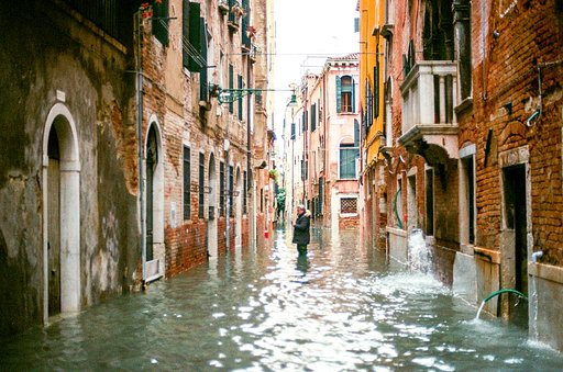 Around the World in Analogue: High Tide in Venice
