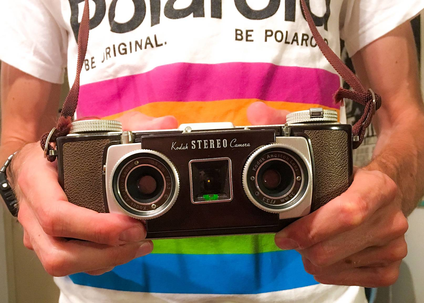 Creating Moving Portraits With The Kodak Stereo Camera Lomography
