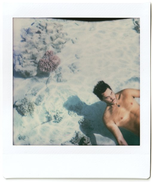 Holidays in Tahiti with Diane Sagnier and the Lomo'Instant Square
