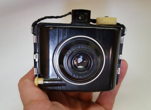 Vintage-Kamera-Reviews: Kodak Baby Brownie Special