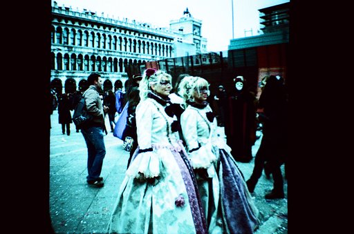 The Colorful and Spooky Venice Carnival