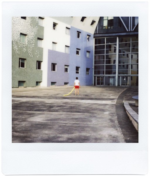 Parisian Walk with Marie Lukasiewicz & Cyrille Robin and the Lomo'Instant Square
