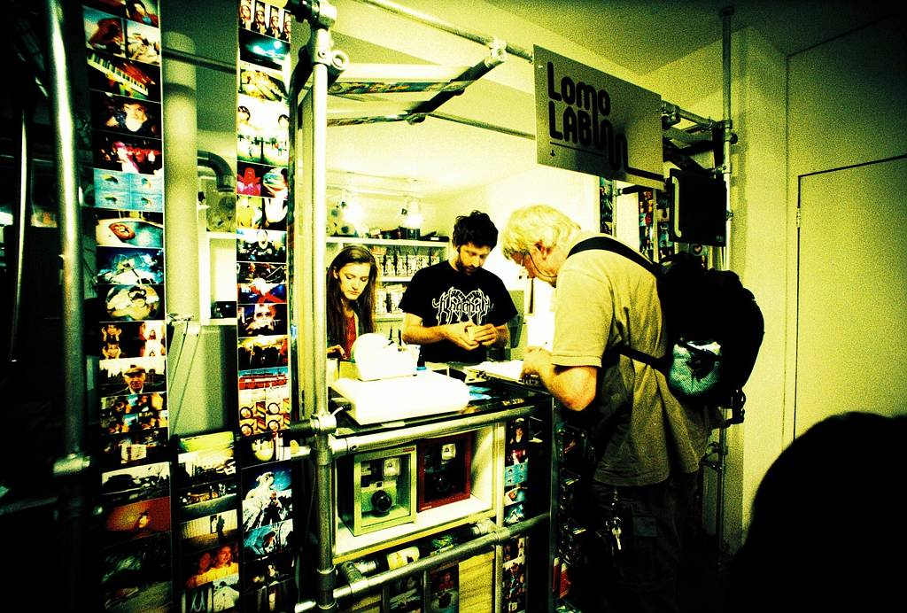 LomoLab @ Lomography Gallery Store East London
