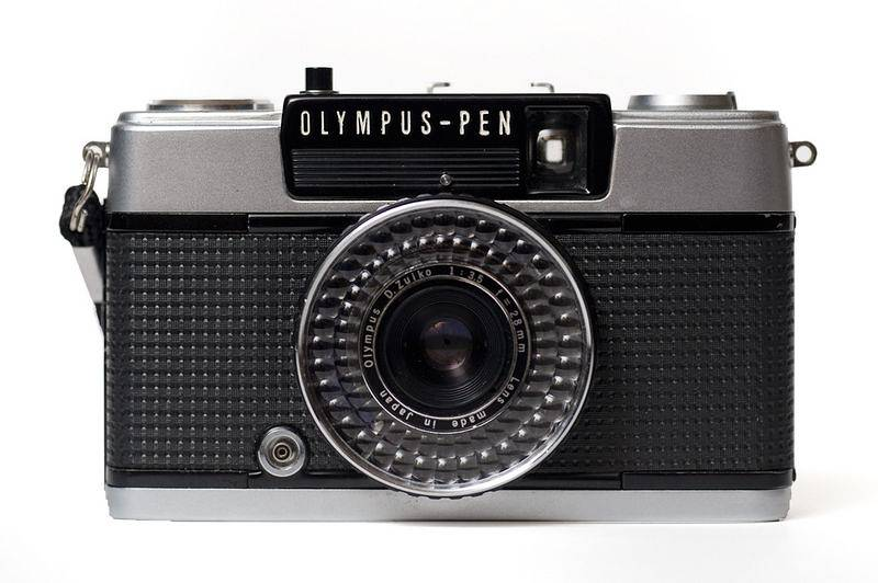 The Pen Ee  Is A Rugged Little Half Frame Camera Like All Half Frame Cameras You Get Two Pictures On A Single  Mm Frame Or If Your Lab Is
