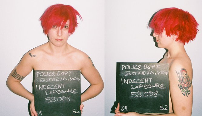 Crime-Free Mugshots Rumble · Lomography