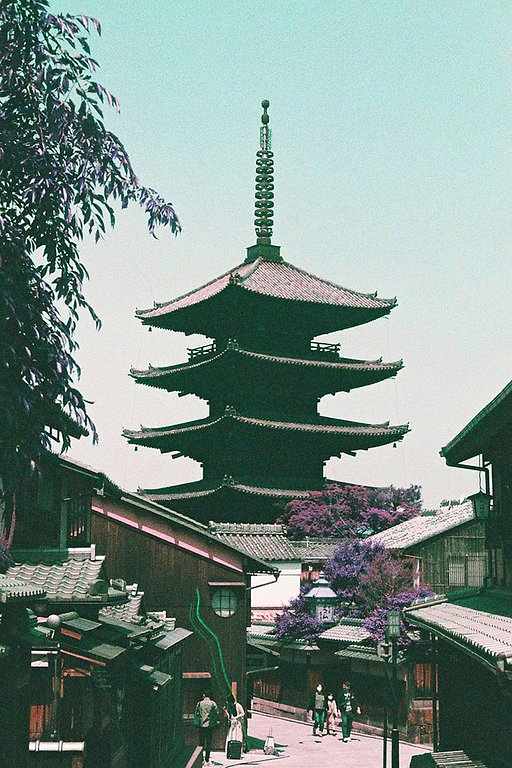 Around the World in Analogue: Kyoto Recollections in LomoChrome Purple