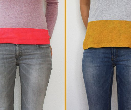 DIY Project #9: Create Your Own Striped T-Shirt