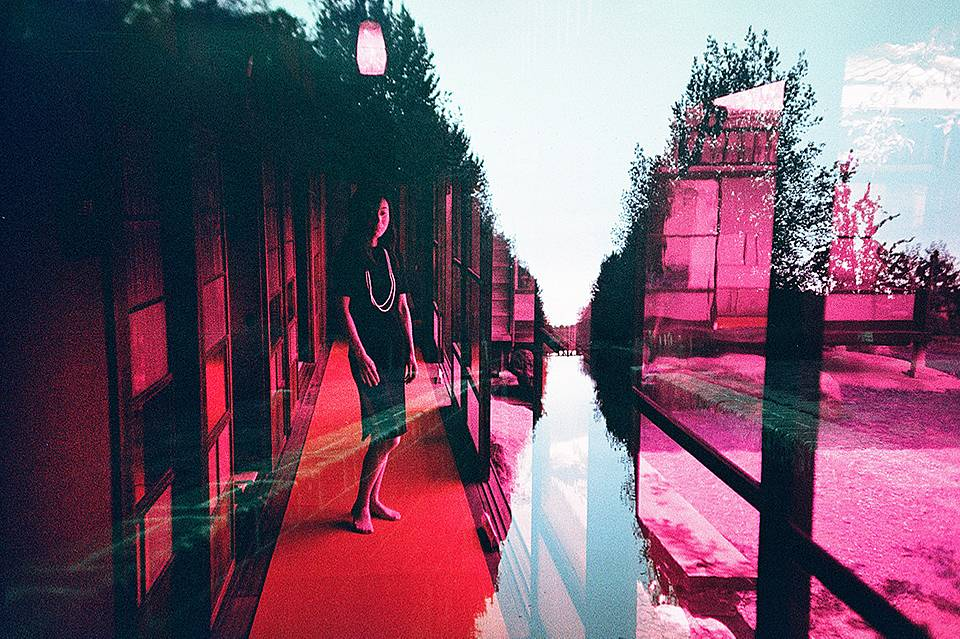 LomoChrome Purple Film Swap — Exposing Both Sides with Fotobes and Hodachrome