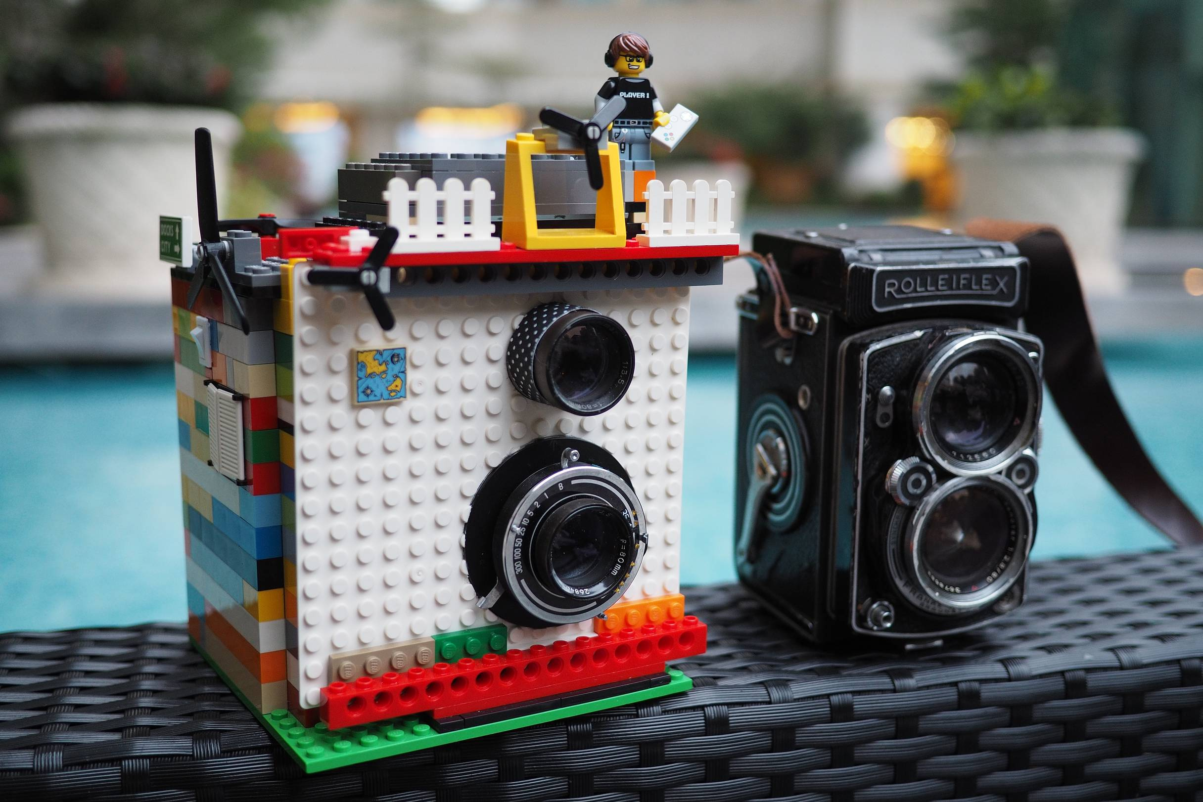 albertino and his instant camera made out of lego lomography rh lomography com