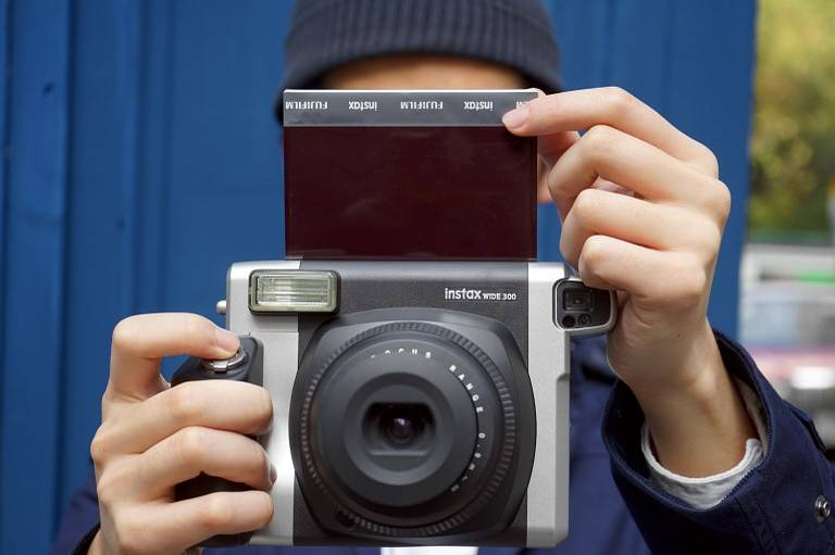 Now Available From Lomography: Fuji Instax Wide 300 Instant Camera