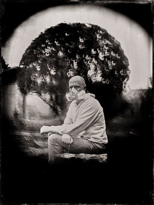 Pandemic Works: Markus Hofstätter's Tintypes From Self-isolation