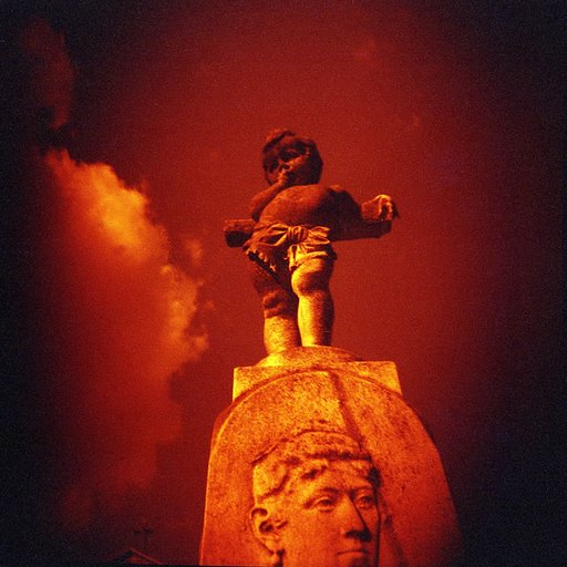Road to Heaven: A Redscale Journey Across the Monumental Cemetery of Milan