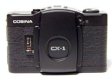 Cosina CX-1 - The Grandfather of the Lomo LC-A