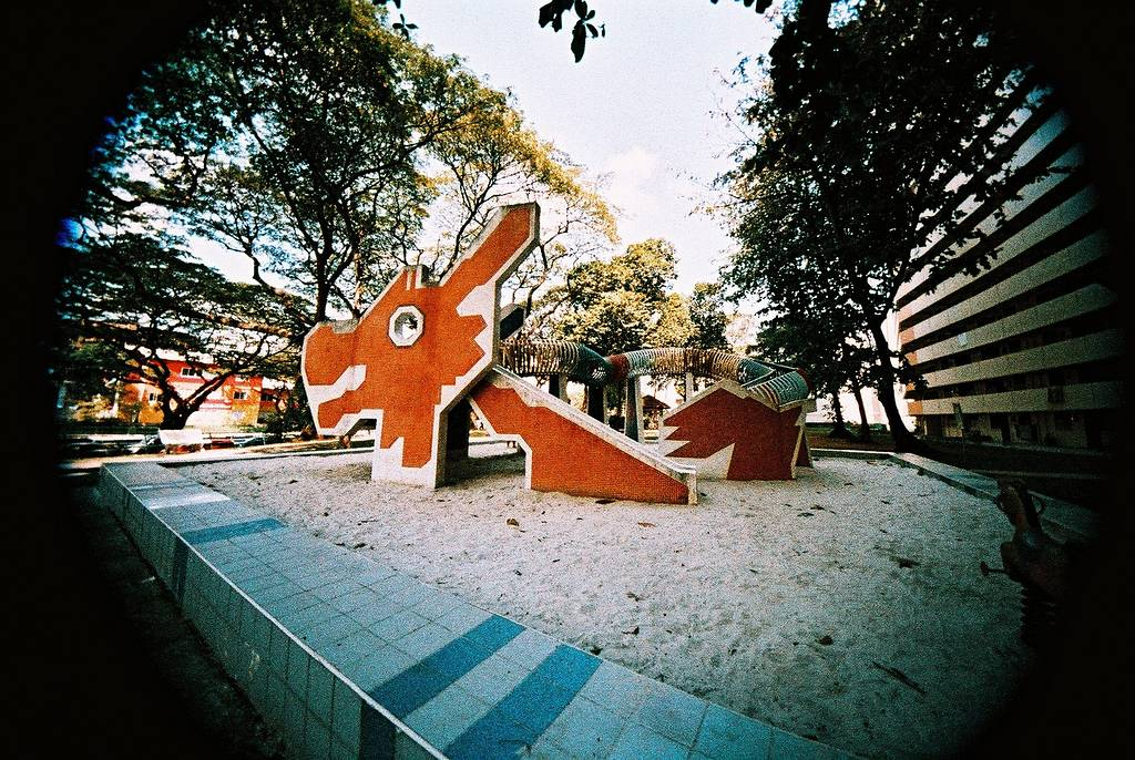 Dragon Playgrounds from the 1970s