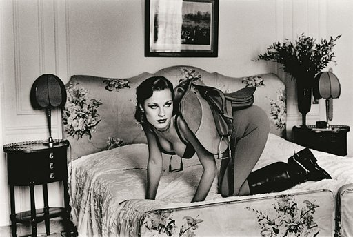 Helmut Newton and Portraying Women in Photographs