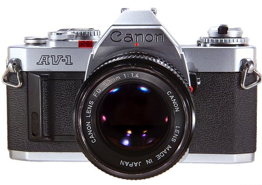 Canon AV-1: Photography Made Easy.