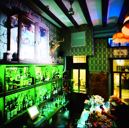 LC-Wide City Diary Rumble: The bar Collage in Barcelona