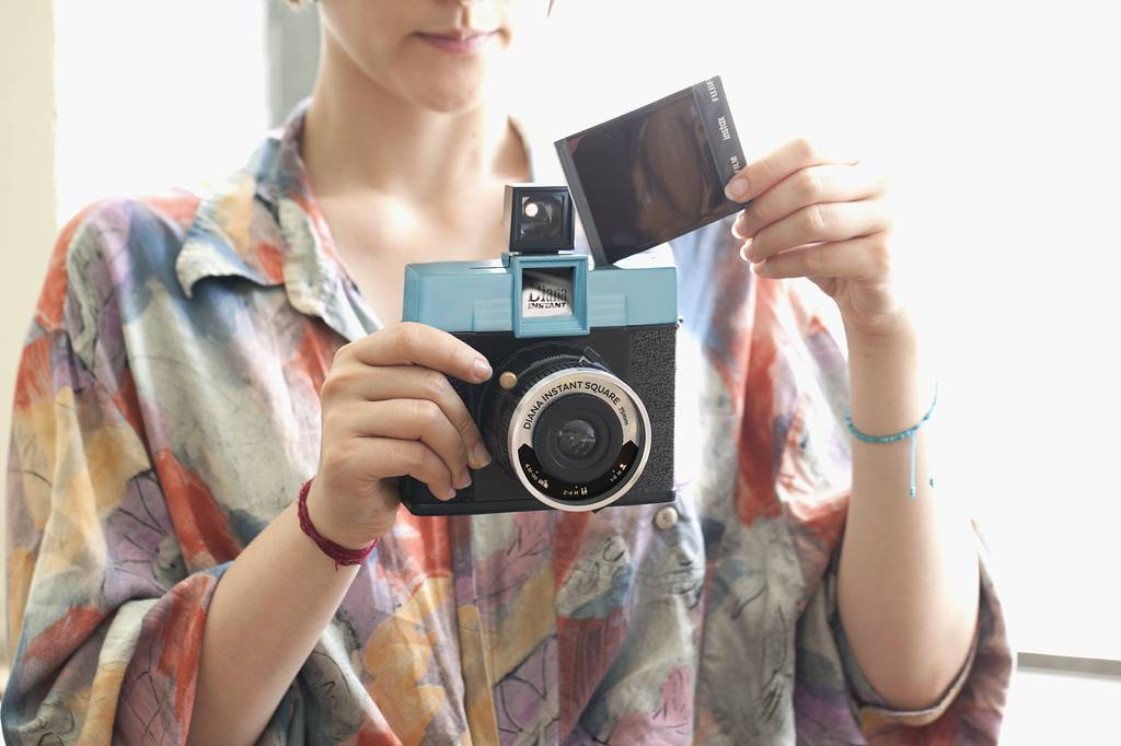 The Diana Instant Square Camera