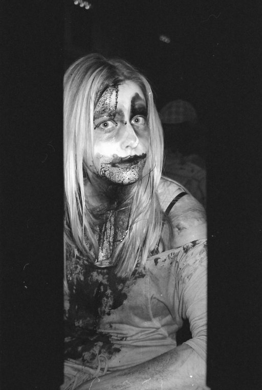Creepy Film Photographs: Zombies