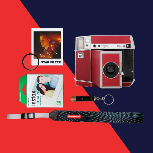 Get a bunch of freebies when you Preorder the Lomo'Instant Square!