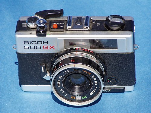 Ricoh 500GX: A Light Leaks Machine