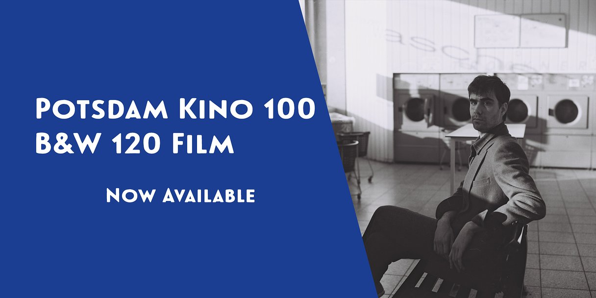 The Lomography B&W 100/120 Potsdam Kino Film is here!