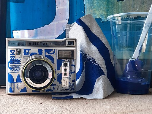 From Prints and Patterns to Photography: Laura Slater's Lomo'Instant Automat Glass Assemble/Configure Edition