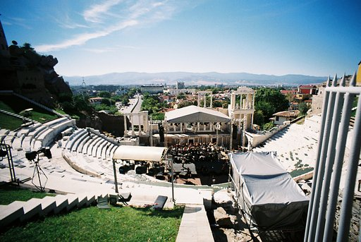 Awesome Acoustics at Plovdiv Roman Ampitheatre!