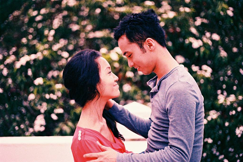 Love, love, love: Couples Gun For Fort Canning Park
