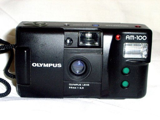 Olympus AM-100 35mm Plastic Camera