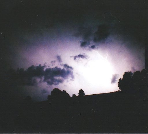 Lightning Caught on Film