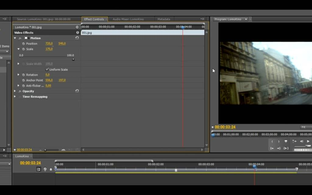 How To: Create a LomoKino Movie in Adobe Premiere CS5 (Win 7)