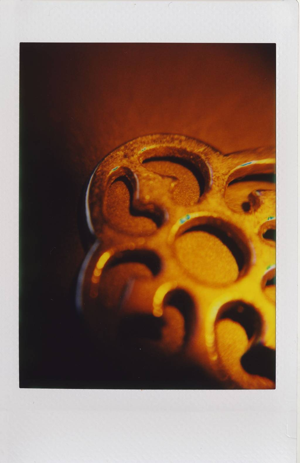 Colourful Instax Mini Macros With the Tunnel Vision Lens