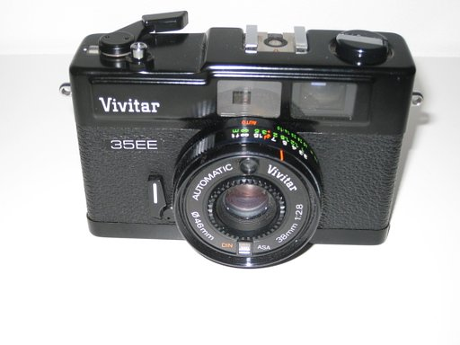 Vivitar 35 EE, the perfect backup