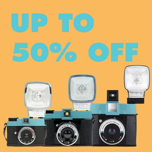 Save up to 50% on Selected Members of the Diana F+ Family!
