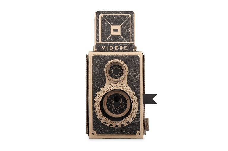 Build Your Own VIDERE and VIDDY Cardboard Pinhole Cameras!