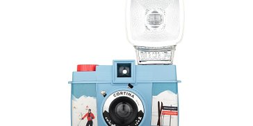 SALE: Diana F+ Camera and Flash (Cortina Edition)