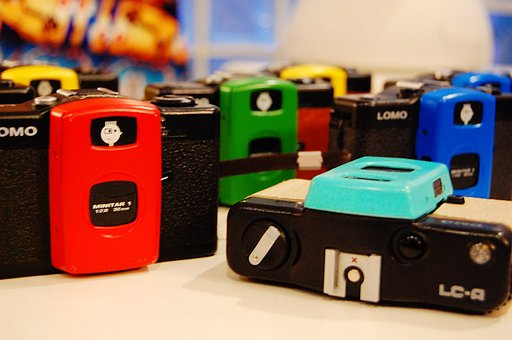 We had special workshop - Trying to change the color of LOMO LC-A lens cover