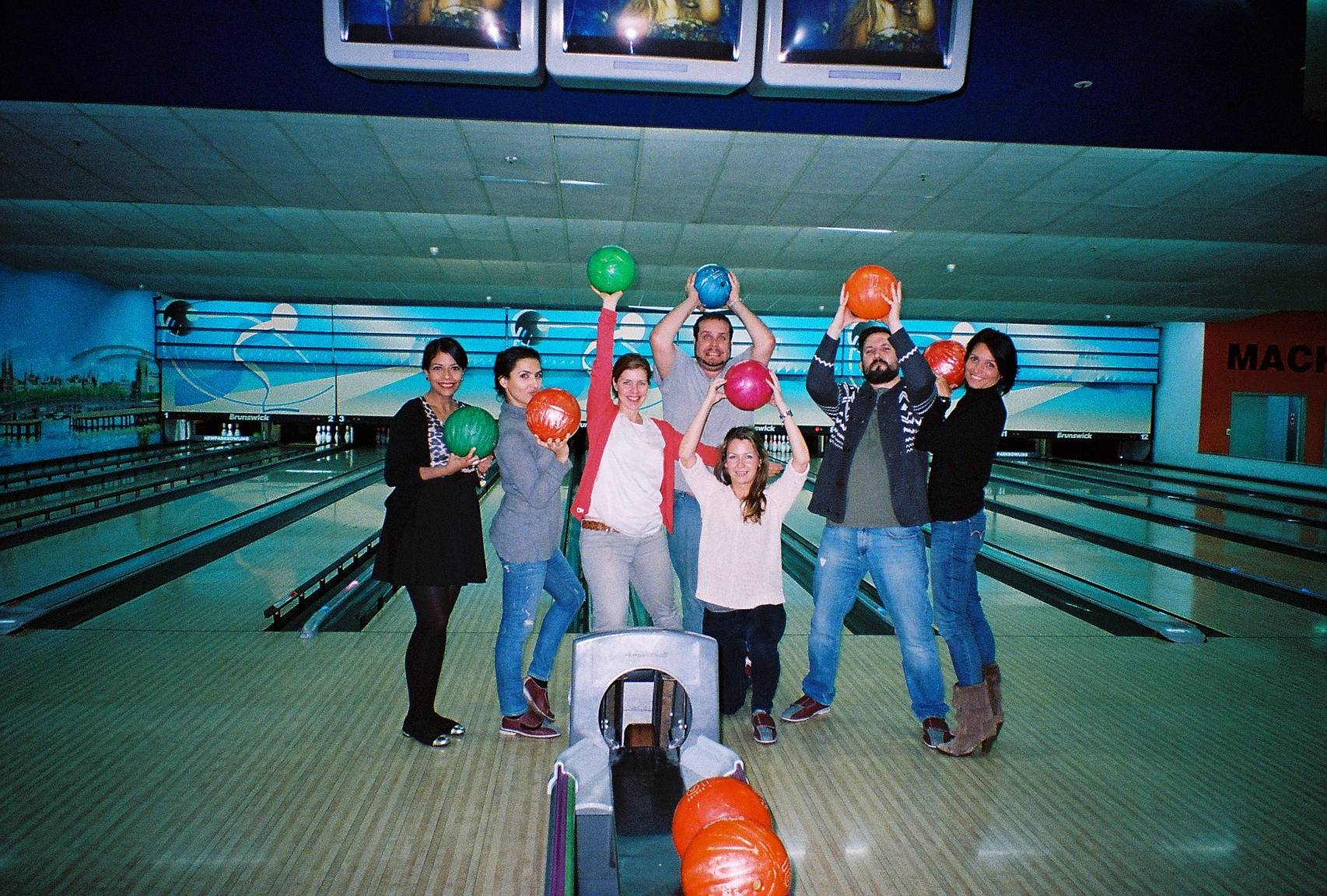 fresh from the lab let s go bowling lomography