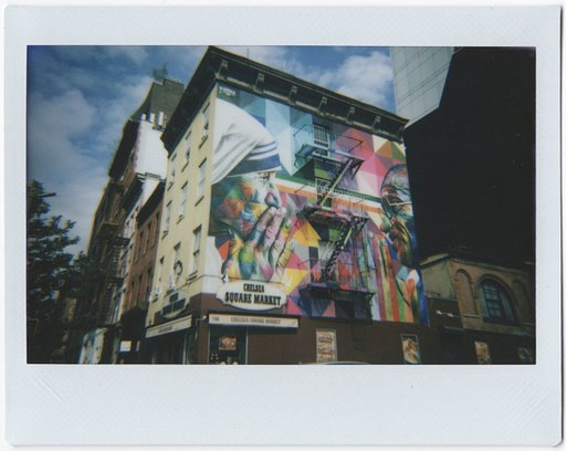 New York in Color and Instants: A Tour with Lomo'Instant Cameras and @ilovefrenchfries