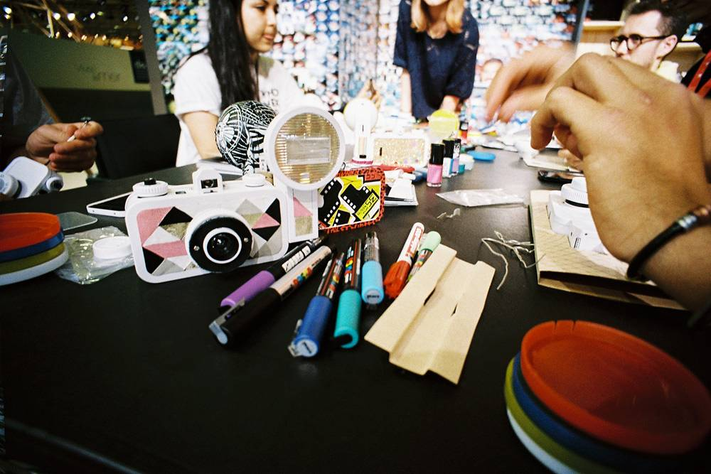 La Sardina DIY customisation workshop @ Who's Next fashion show in Paris