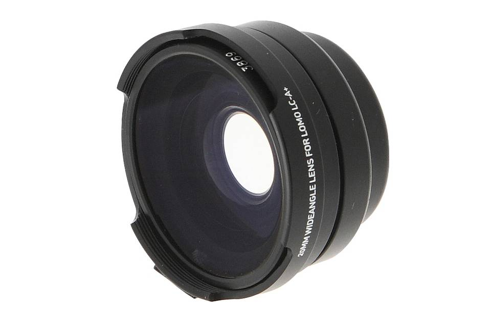 Wannabe LC-Wide: The LC-A+ Wide Angle Lens